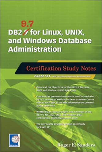 Amazon.com: DB2 9.7 for Linux, UNIX, and Windows Database ...