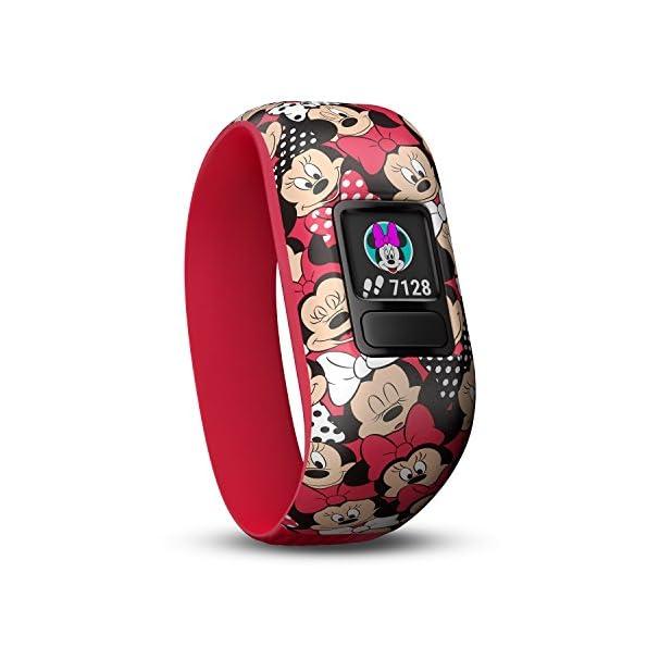 Orologio Minnie Garmin Vivofit JR 2  Activity Tracker per Bambini con Cinturino Elastico - 4 anni