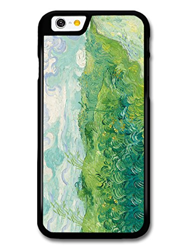 Vincent Van Gogh Green Wheat Fields Painting Artist Art Vintage case for iPhone 6 6S