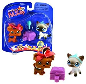 Amazon.com: Hasbro Year 2004 Littlest Pet Shop Pet Pairs