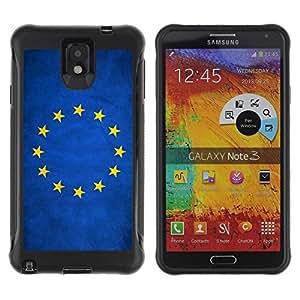 Suave TPU GEL Carcasa Funda Silicona Blando Estuche Caso de protección (para) Samsung Note 3 / CECELL Phone case / / National Flag Nation Country European Union /