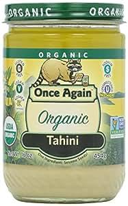 Once Again, Organic Tahini,16 oz