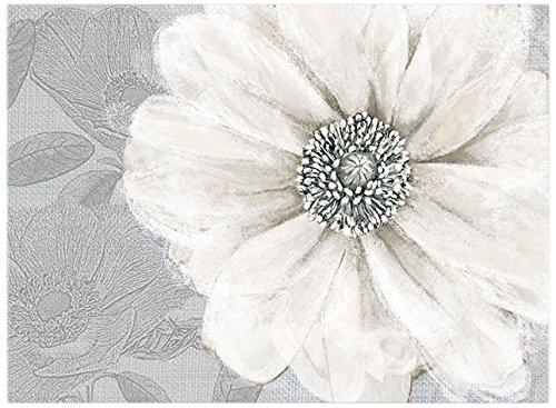 Graham & Brown Harrogate Grey Bloom Wall Art, 23 by - Grey Brown