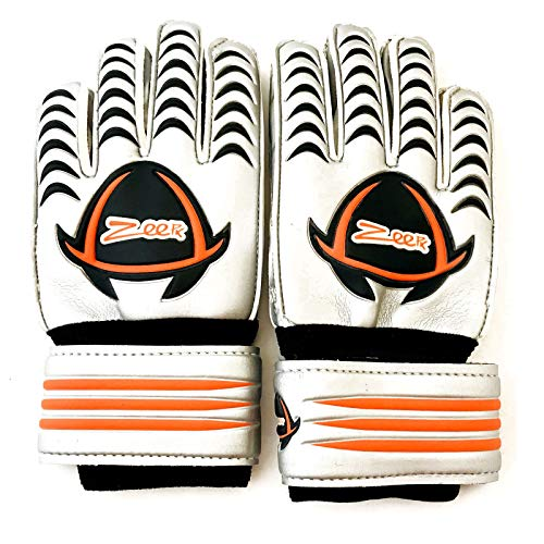 - New Soccer Goalie Goalkeeper Gloves Protected Fingers Size 11