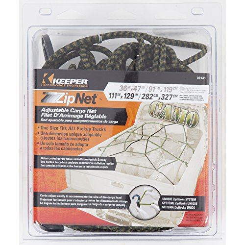 Keeper 03141 ZipNet Adjustable Cargo