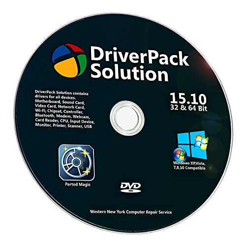 Windows Vista Installation Dvd - Universal Offline Automatic Complete Device Driver Install DVD For Windows 7, XP, 8, Vista, 8.1, Win 10 Supports HP Dell Toshiba Sony Acer Asus Lenovo Compaq IBM eMachines Gateway, by Western Computer