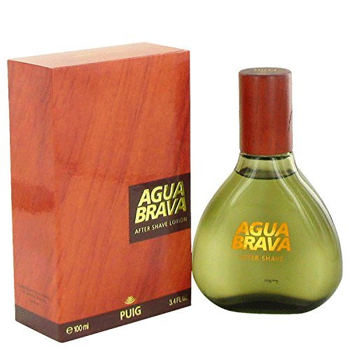 AGUA BRAVA by Antonio Puig Men's After Shave 3.4 oz - 100% Authentic