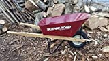 Scenic Road Wheelborrow Ms6-1r Ribbed Tire Wheelbarrow Parts Box