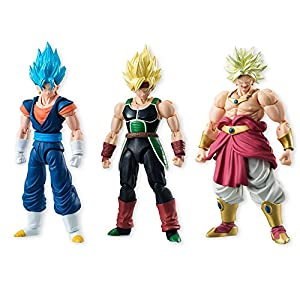 Bandai Shokugan Dragon Ball Shodo 5 Vegito, Bardock and Broly Figure