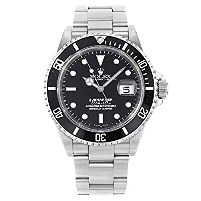 Rolex Submariner Automatic-self-Wind Male Watch 116610 (Certified Pre-Owned) by Rolex