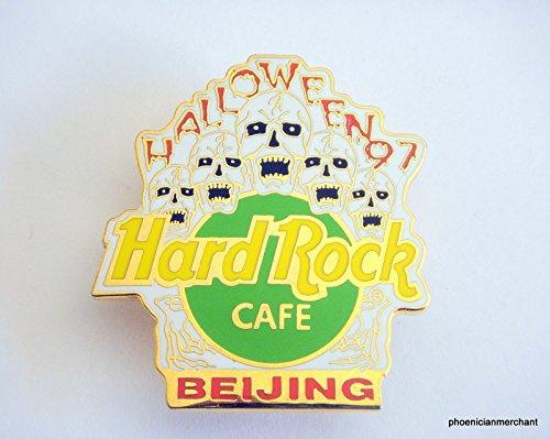 Hard Rock Cafe Beijing Halloween 1997 5 Singing Skulls -