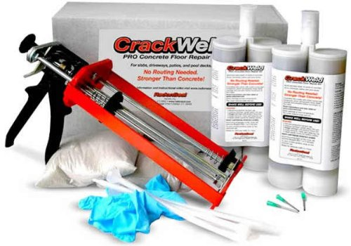 Crackweld Pro Concrete Floor Repair Kit Seal Cracks In A