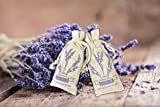 French Lavender Scented Sachet Gift Box for Pillow, Nightstand, Drawer, Closet, Car, Suitcase, Workout Bags Natural Lavender Fragrance Aromatherapy Lavender Scent