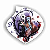 Cheap The Nightmare Before Christmas 11.4'' Handmade Wall Clock – Get Unique décor for Home or Office – Best Gift Ideas for Kids, Friends, Parents and Your Soul Mates