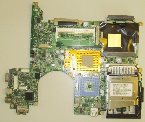 HP 416978-001 System board (motherboard) - For nc6230, with 64MB ATI Radeon X300 graphics controller (Discrete -