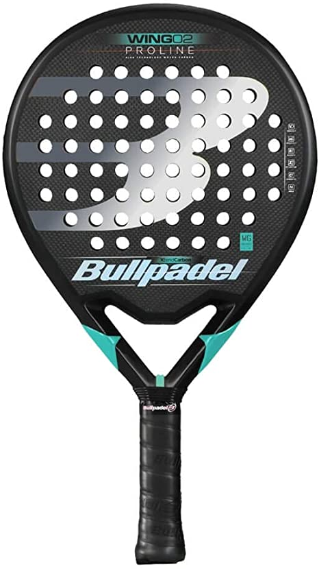 Bullpadel Wing 02 2019 Palas, Adultos Unisex, Negro, 380: Amazon ...