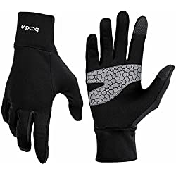 BOODUN Cycling Gloves Touch Screen Winter Windproof Gloves Warmer Hand Gloves Men and Women Anti-Skid Gloves for Cycling, Running, Climbing and Winter Outdoor Sports