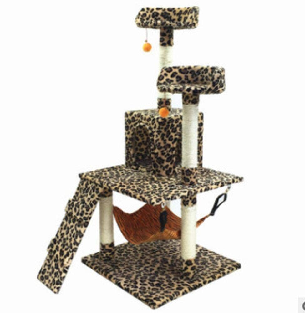 Grey Axiba Play Towers Trees for Cats Cat climbing frame cat jumping cat litter cat tree cat grab column for game 58cm 56cm  30cm