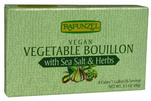 Rapunzel USA Organic Vegetable Bouillon with Herbs, 3.10 Ounce -- 12 per case. by Rapunzel USA