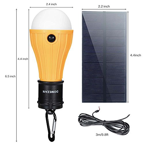 Domezan solar light indoor portable outdoor emergency Solar air heater portable interior exterior