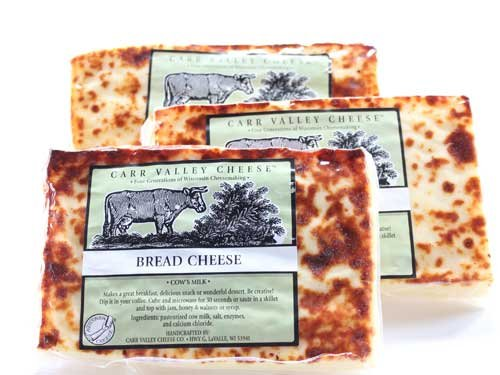 Juusto Bread Cheese Carr Valley 3 Pack by Wisconsin Cheese Mart
