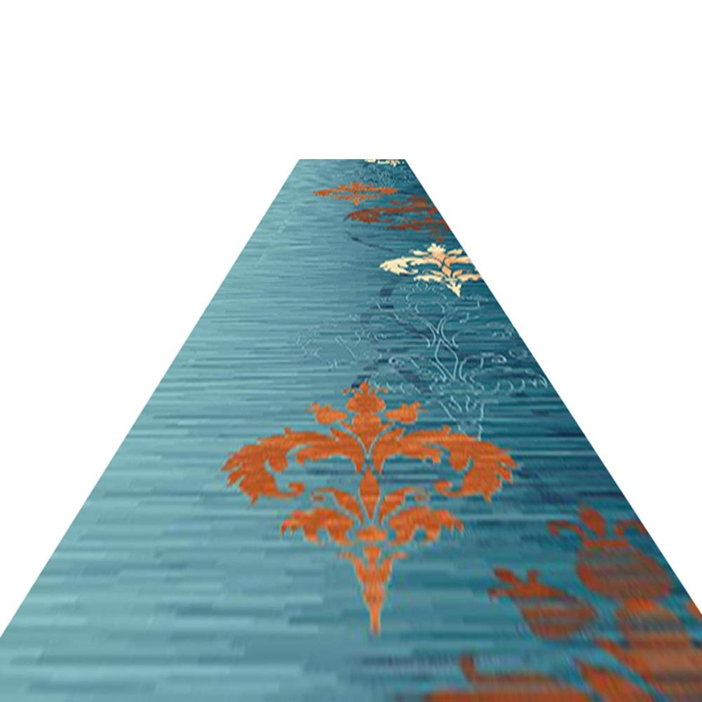 HAIPENG 廊下のカーペット エクストラロング ランナー ラグ にとって 廊下 洗える エリアラグ 滑り止め カーペット ローパイル にとって キッチン そして 入り口 フォーマル (色 : A, サイズ さいず : 1.6x6m) 1.6x6m A B07P8DQNLT