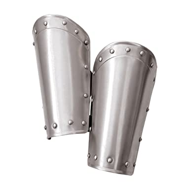 6a2f009c9dc Amazon.com  Mytholon Steel Balthasar Bracers Medieval Armor LARP  Clothing