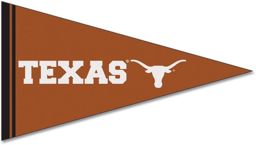 Small, 2 Pack NCAA Texas Longhorns Car Magnet Pennant