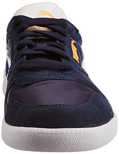 Puma Icra Trainer Shades - zapatilla deportiva de material sintético hombre azul - Blau (peacoat-white-strong blue 01)