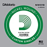 D'Addario NW019 Nickel Wound Electric Guitar Single String.019
