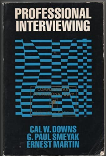 Professional Interviewing
