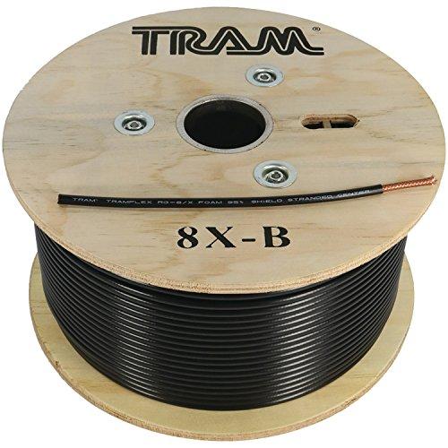 (TRAM 8X-B RG8X 500ft Roll Tramflex Coaxial Cable)