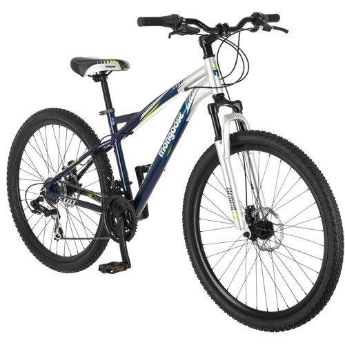 "29"" Mongoose Stat Men's Mountain Bike, Blue/silver"