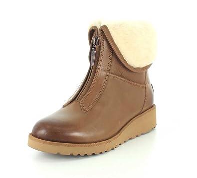 UGG 15714 Femmes Caleigh Bottes taille en cuir pour femmes en en châtaigne en taille 3 UK 45e5b6b - nobopintu.website