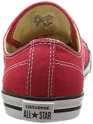 Basses As Converse Rouge Ox Dainty Femme Sneakers 8qngIgxdw