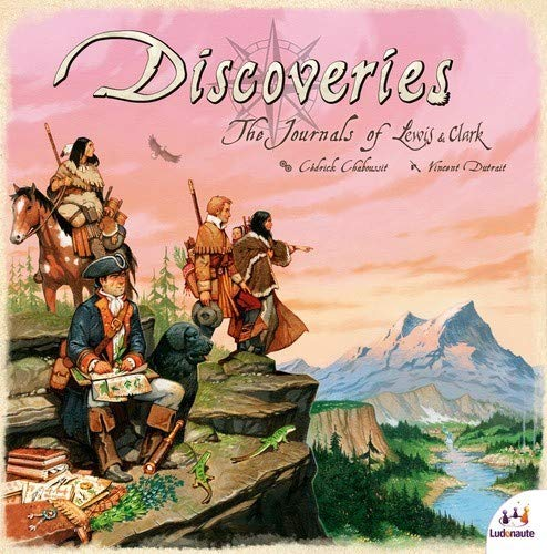 Discoveries: The Journals of Lewis & Clark - Meeple BR Jogos