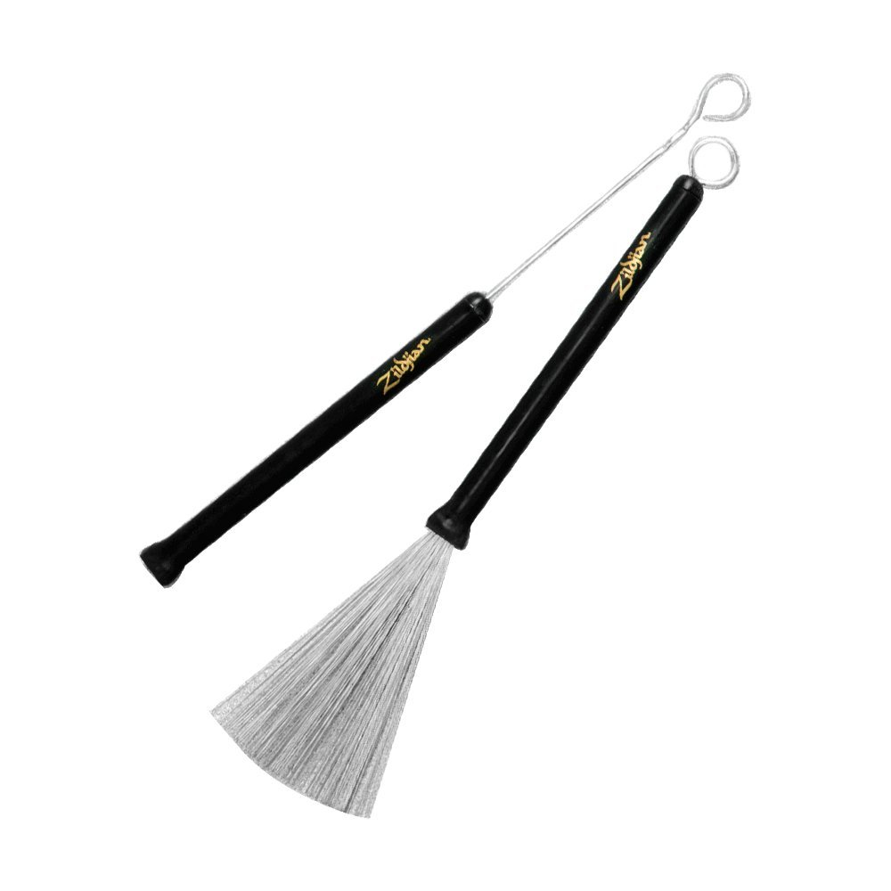 Zildjian Professional Wire Brushes, Retractable Avedis Zildjian Company SDWBZB1