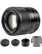 Viltrox 56mm F1.4 Autofocus Lens for Fuji,Large Aperture APS-C Format Portrait Lens for Fujifilm X-Mount Cameras X-T200/T30/T4/T3/A7/Pro3 with USB Upgrade Port