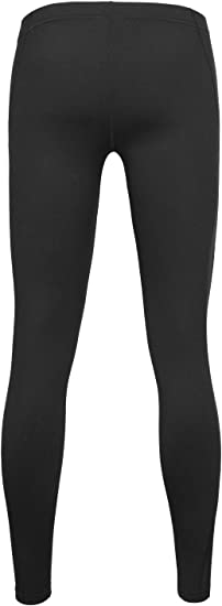 Youth Athletic Fleece Thermal Tights POPINJAY Boys Sports Compression Leggings