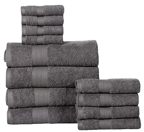 affinity-home-collection-soft-cotton-12-piece-towel-set-grey