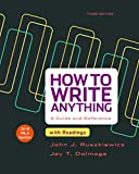 How to Write Anything with Readings with 2016 MLA Update 9781319085728