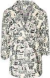 Sweet & Sassy Girls Coral Fleece Printed Robe (Ivory Paris, 10-12)\''