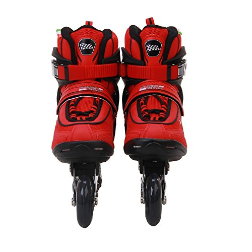 Ferrari Inline Skate Roller Skating Red/Black EU43/US Size 9.5