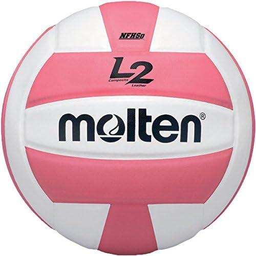 Molten Premium Competition L2 - Balón de Voleibol, Color Rosa y ...