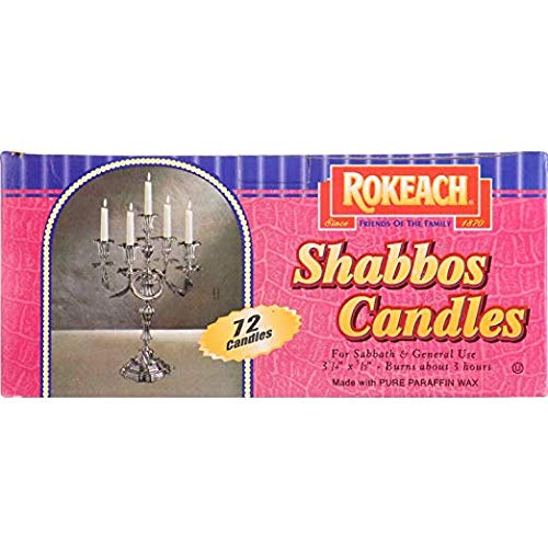 - ROKEACH CANDLE SABBATH ISRAELI 72 1EA