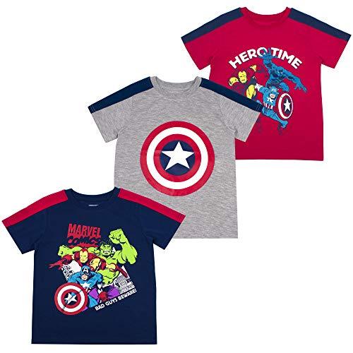 (Avengers Boys' T-Shirt (Pack of 3) 4)