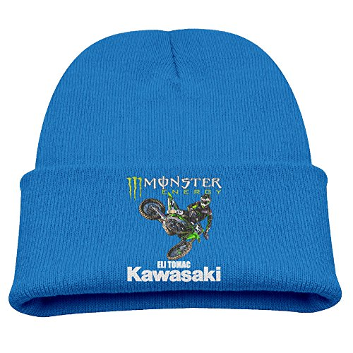 2de8d294efc Amazon.com  Eli Tomac  3 Motorcycle Racer Warm Winter Hat Knit Beanie Skull  Cap Cuff Beanie Hat Winter Hats Children  Clothing