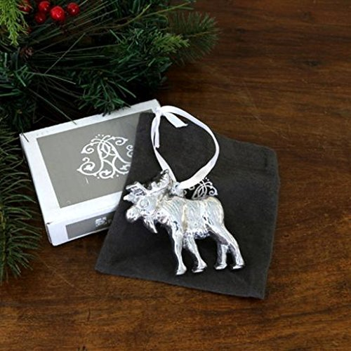 Beatriz Ball Holiday Moose Ornament