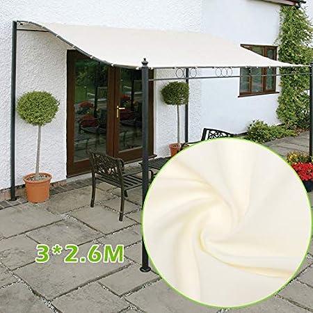 EliteMill - Toldo parasol de jardín para exterior o puerta, para ventana de jardín o techo, 300 D, de tela impermeable, con dosel: Amazon.es: Hogar