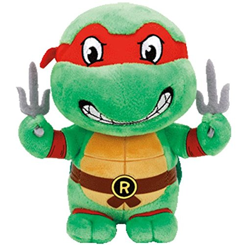Ty Beanie Babies Teenage Mutant Ninja Turtles Raphael]()